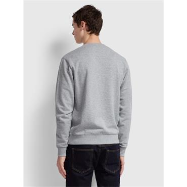 Farah Tim Sweat - Light Grey Marl
