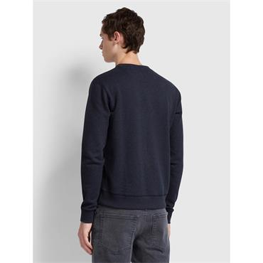 Farah Tim Sweat - True Navy Marl