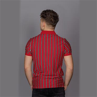 Altham Ss Polo - Fire Brick