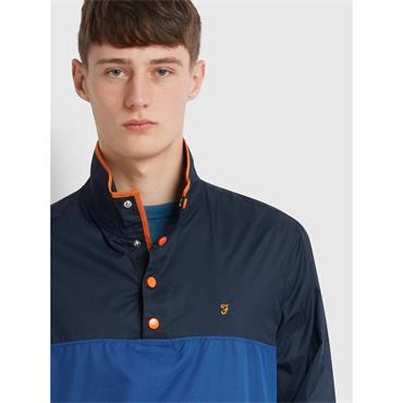 Farah Ralph Overhead Jacket - Blue Grape