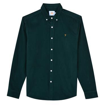 Farah Fontella Cord Shirt - Green
