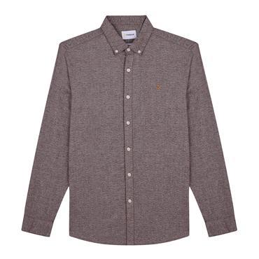 Farah Kreo Shirt - Burgundy