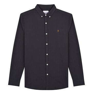 Farah Brewer Shirt - Grey