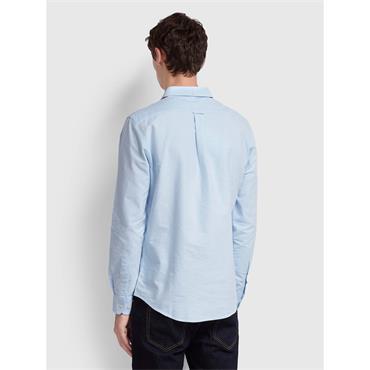 Brewer Slim Fit Shirt - Sky Blue