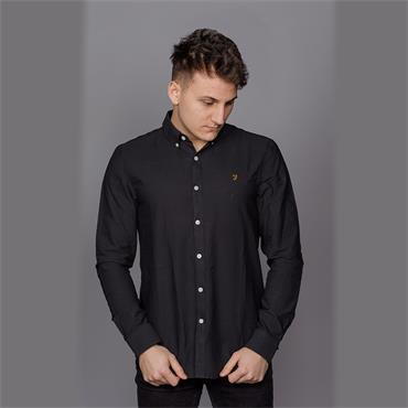 Brewer Slim Ls Bd - Black Ink