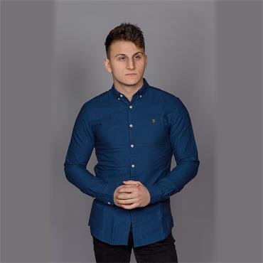 Brewer Slim Ls Bd - Blue Star