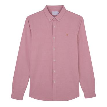 Brewer Slim Ls Bd - Peach