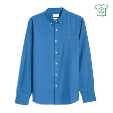 Farah Brewer Shirt - 371 Teal