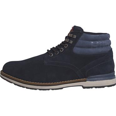 OUTDOOR SUEDE HILFIGER BOOT - MIDNIGHT
