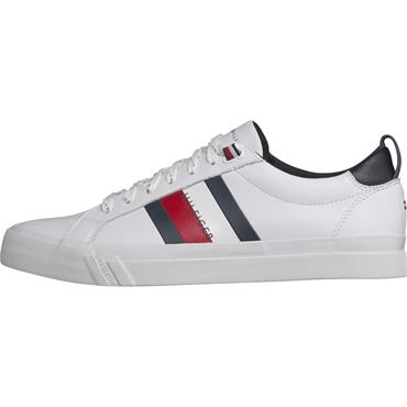 FLAG DETAIL LEATHER Tommy Hilfiger - White