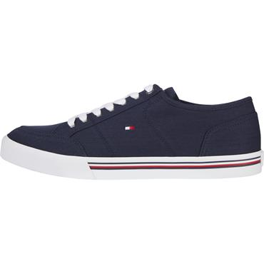 Tommy Hilfiger Corporate Texture Trainer - Navy