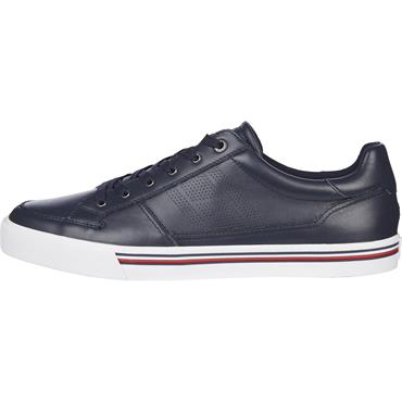 Tommy Hilfiger Corporate Leather Sneaker - Navy