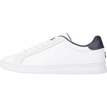 Tommy Hilfiger CUPSOLE COURT LEATHER - White