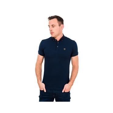 Xv Kings Polo - Navy Weave