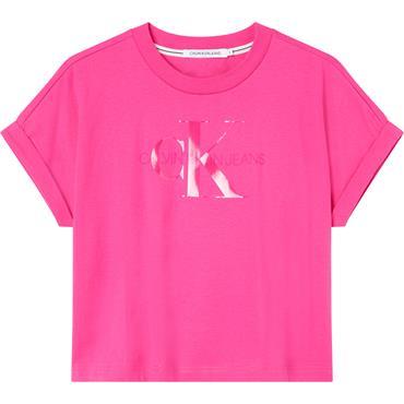 CKJ Tonal Monogram T - Pink