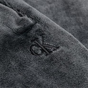 Ckj Womens Washed Velvet Pant - Black