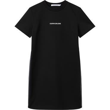 Ckj Womens Milano T-Shirt Dress - Black