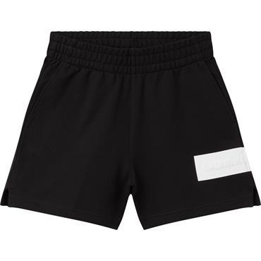 Ckj Womens Hero Logo Shorts - Black
