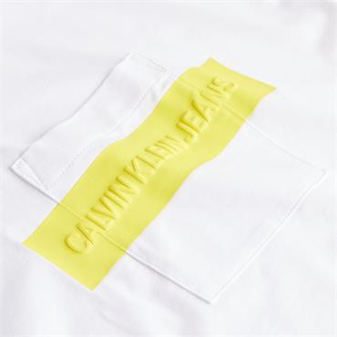 Ckj Womens Hero Logo T-Shirt - BRIGHT WHITE