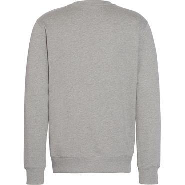 Institutional Logo Sweatshirt, Grey/Yellow - Calvin Klein Jeans