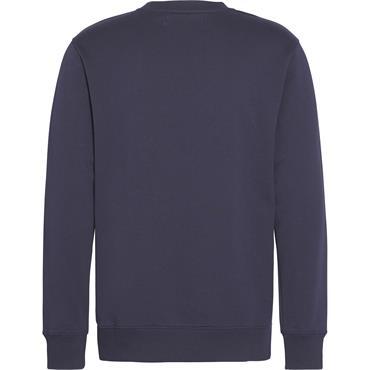Institutional Logo Sweatshirt, Night Sky - Calvin Klein Jeans