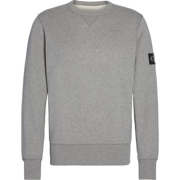 Monogram Sleeve Badg - Grey