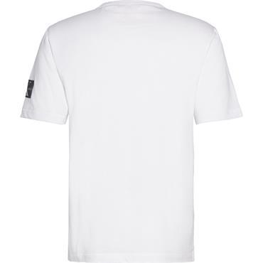 MONOGRAM SLEEVE BADG - White