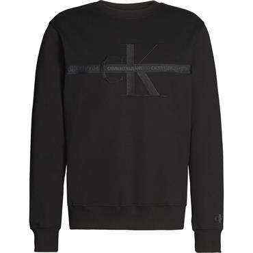 CK Jeans Taping Through Monogram - Black Beauty