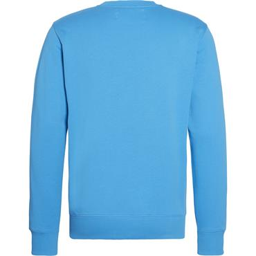 Calvin Klein Jeans MONOGRAM REG CREWNECK - Coastal Blue