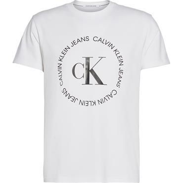 Ck Round Logo T - White