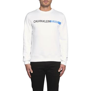 Calvin Klein Jeans STRIPE INSTITUTIONAL - White