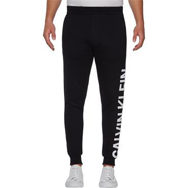 Ck Jeans Puff Print Jogger - Black