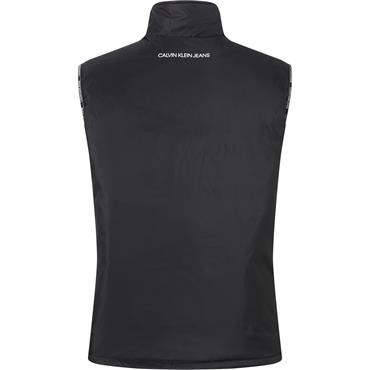 CK Jeans Padded Gilet - Black