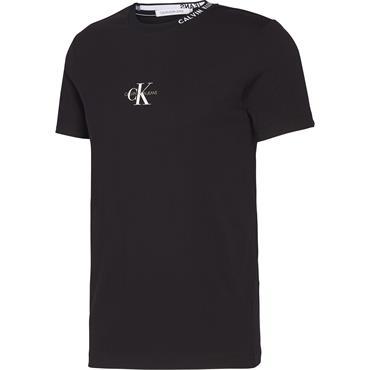 Ck Jeans Centre Monogram T - Black