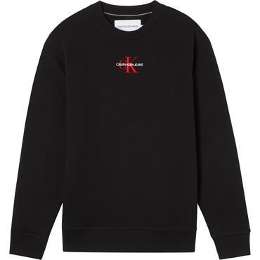 Ck Jeans Iconic Essential Sweat - Black