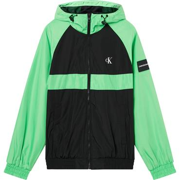 Ck JEANS Blocked Zip Thru Jacket - Green