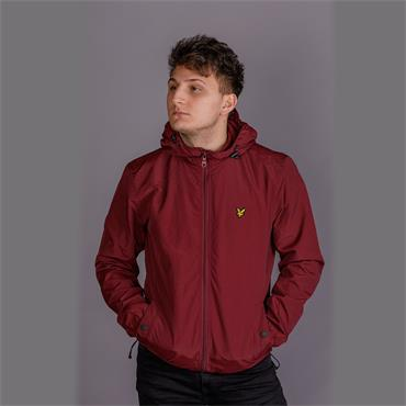 Microfleece Lined Zip Through Jacket - Claret Jug