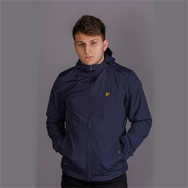 Microfleece Lined Zip Through Jacket - Dark Navy