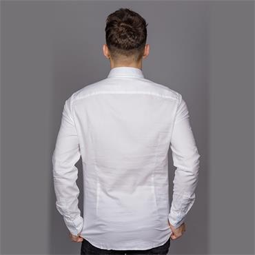 Button Down Washed Shirt - Perfect White