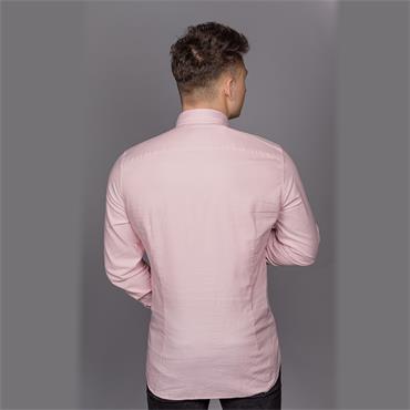 Button Down Washed Shirt - 665 Blush