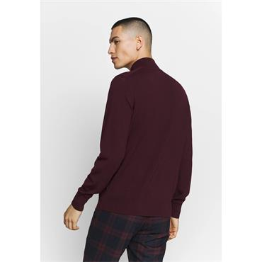 Ck Mock Neck - Wine