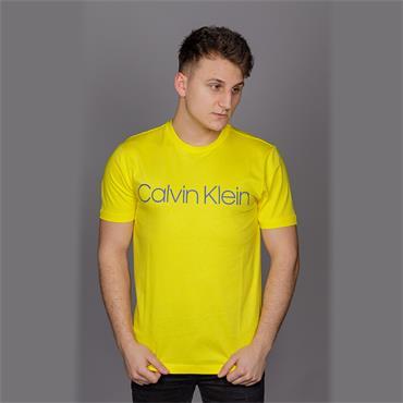 Cotton Front Logo Tee - Empire Yellow