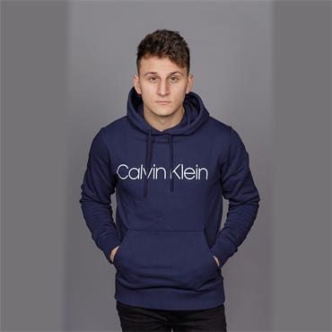 Cotton Logo Hoodie - Navy Blazer