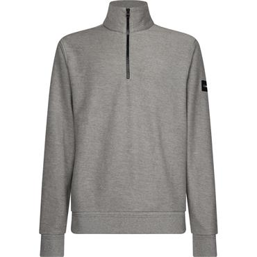 Tonal Mock Neck - Mid Grey