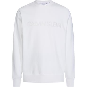 Ck 2 Tone Logo Sweat - White