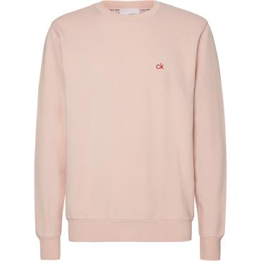 Ck Garment Dye Sweat - Nude Lustre