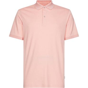 Ck Interlock Slim Polo - Nude Lustre Heather
