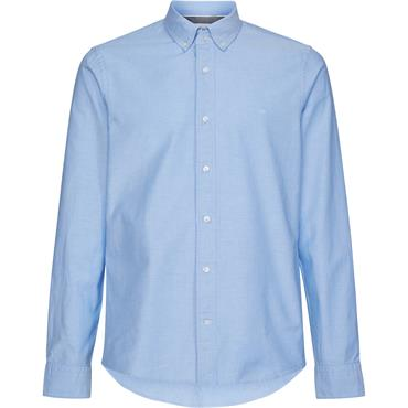 CL SLim Fit Stretch Oxford - Vista Blue
