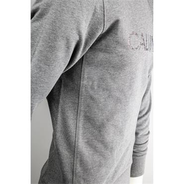 CK Multi Embroidery Sweat - Mid Grey