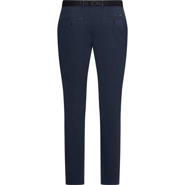 Calvin Klein Slim Fit Garment Dye Chino - Navy